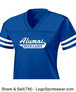 ECSU ALUMNI CHEER JESERY Design Zoom